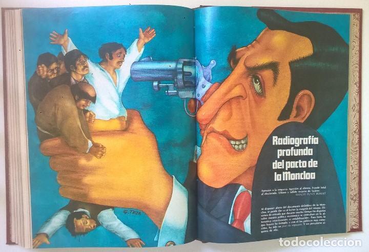 Revistas: ANTIGUA REVISTA ERÓTICA LUI - TOMO CON SEIS EJEMPLARES ENCUADERNADOS ( Nº 7 AL 12 ) - AÑO 1977 - Foto 19 - 135462170