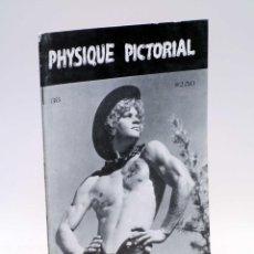 Revistas: REVISTA MAGAZINE PHYSIQUE PICTORIAL VOL. 36. SEPT (VVAA) AMG / BOB MIZER, 1982. GAY VINTAGE. Lote 232248605
