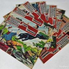 Revistas: REVISTA JUVENIL. JORGE Y FERNANDO. 8 EJEMPLARES. EDIT. DOLAR. 1958.. Lote 137627766