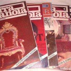 Revistas: CRONICA DE LA GUERRA ESPAÑOLA Nº 1-2-3-4-5- (1939-1940). Lote 138551462