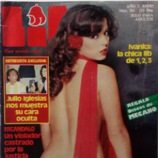 Revistas: REVISTA LIB Nº 361 JULIO IGLESIAS, IVANKA AZAFATA UN, DOS, TRES. ANTONIO OZORES, JOHN HOLMES,. Lote 138812194