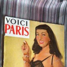 Revistas: VOICI PARIS FEBRERO 1950 NÚM. 1 EROTISMO FOTOGRAFÍA VARIEDADES. Lote 139023810