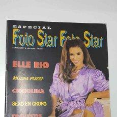 Revistas: REVISTA: SEXSTARS NUM 8, ESPECIAL FOTO - ELLE RIO, MOANA POZZI, CICCIOLINA. CONTRAPORTADA: RACQU.... Lote 141322874