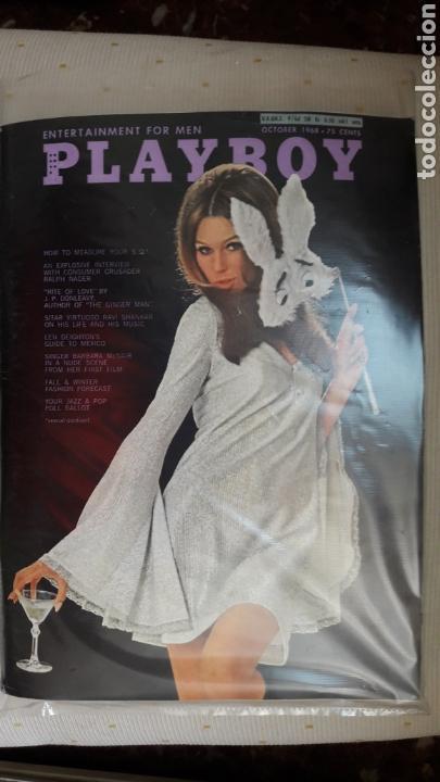 REVISTA PLAYBOY OCTUBRE 1968 (Coleccionismo para Adultos - Revistas)