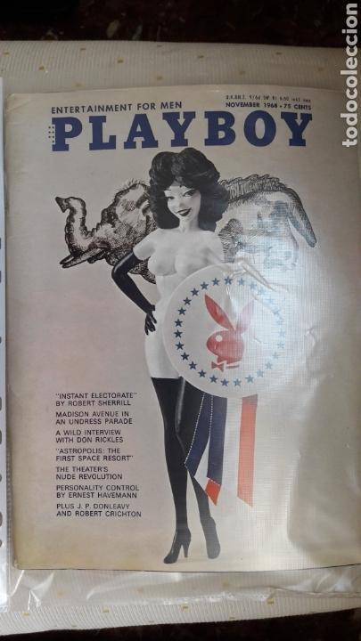 REVISTA PLAYBOY NOVIEMBRE 1968 (Coleccionismo para Adultos - Revistas)