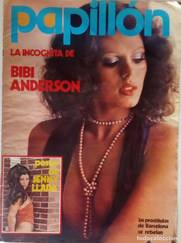 REVISTA PAPILLÓN Nº 23 BIBI ANDERSEN JENNY LLADA SANDRA MOZAROVSKI PAUL MCCARTNEY (Coleccionismo para Adultos - Revistas)