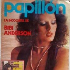 Revistas: REVISTA PAPILLON Nº 23 BIBI ANDERSEN, JENNY LLADA, SANDRA MOZAROVSKI, PAUL MCCARTNEY. Lote 143915766