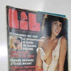 Revistas: REVISTA LIB: AÑO 4, NUM 146 (7-8-79) - ANDREA BERTI, AZUCENA HERNANDEZ, SUSANA ESTRADA, ILLONA S.... Lote 145386564