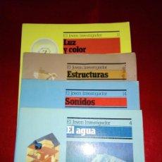 Revistas: LOTE 4 REVISTAS-EL JOVEN INVESTIGADOR-Nº4.7.11.14-1985-1986.1987-BUEN ESTADO GENERAL-COLECCVER FOTOS. Lote 145441562