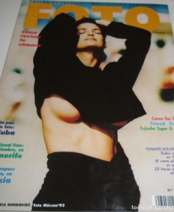FOTO - N 130 - OCTUBRE 1993 (Coleccionismo para Adultos - Revistas)