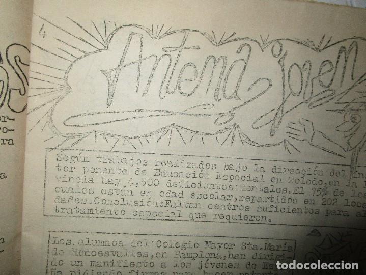 Revistas: NUEVA FRONTERA PORT GALAXIA periodico artesanal antiguo ALICANTE fiestas FUTbOL HERCULES musica etc - Foto 23 - 97228115