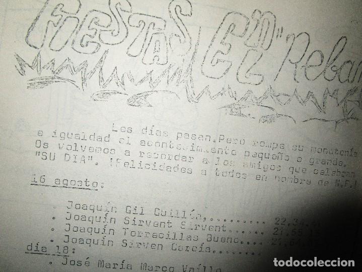 Revistas: NUEVA FRONTERA PORT GALAXIA periodico artesanal antiguo ALICANTE fiestas FUTbOL HERCULES musica etc - Foto 30 - 97228115