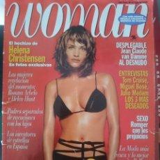 Revistas: WOMAN Nº 47 AGOSTO 1996 - HELENA CHRISTENSEN - JEAN CLAUDE VAN DAMME- MIGUEL BOSE. Lote 147261298