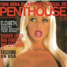 Revistas: PENTHOUSE Nº 214 AÑO 1996 REVISTA EROTICA PARA ADULTOS 140 PÁGINAS. CON ACTRICES FAMOSAS DESNUDAS. Lote 149450438