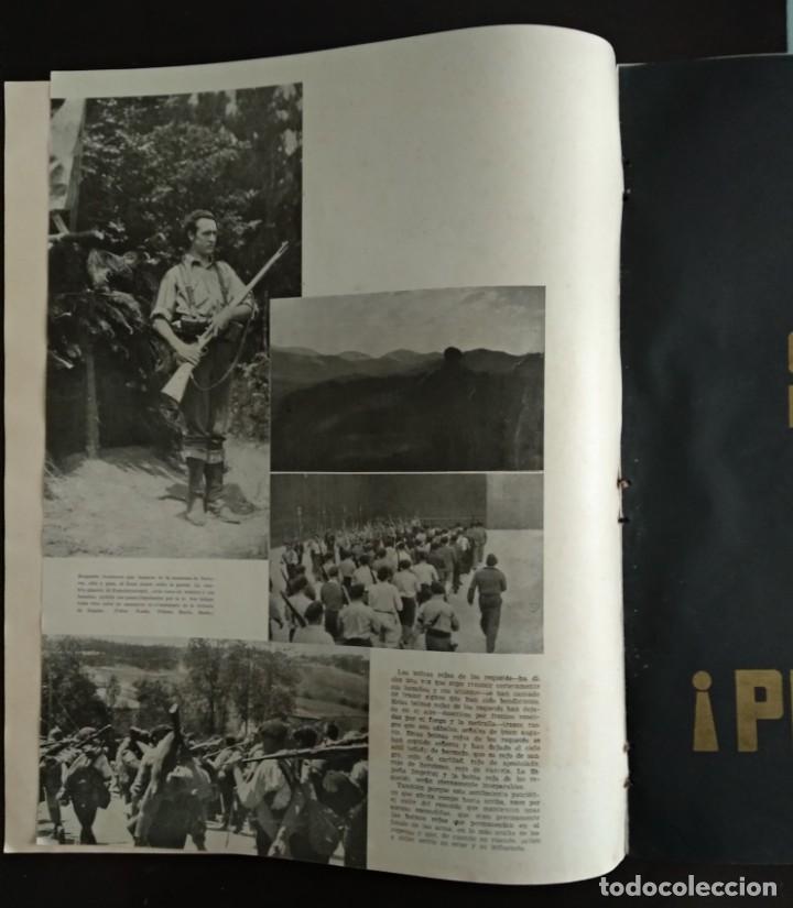 Revistas: Reportaje EL REQUETÉ portada litografía C.S. DE TEJADA - Foto 3 - 149676518