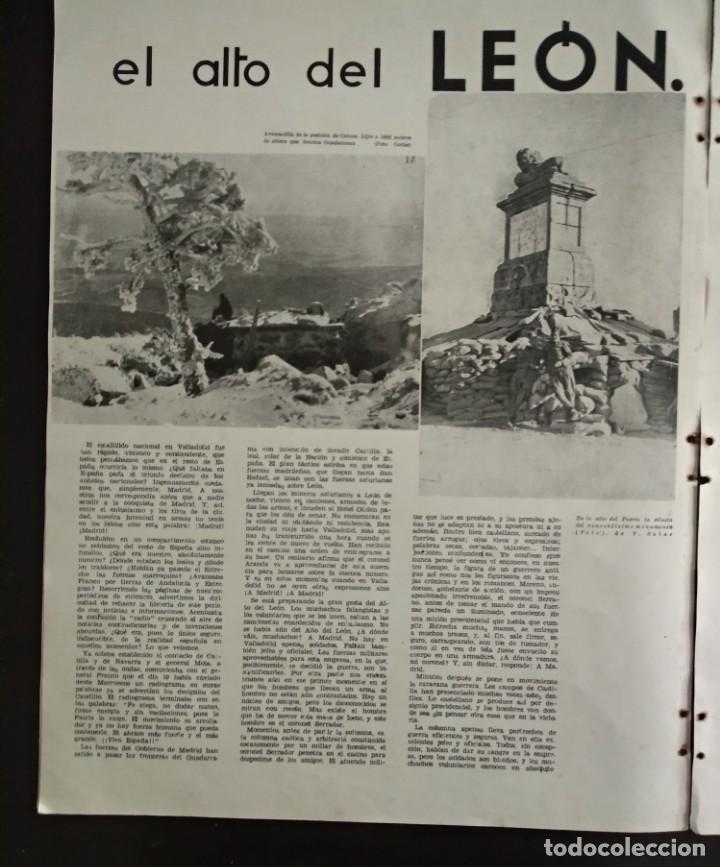 Revistas: Reportaje EL REQUETÉ portada litografía C.S. DE TEJADA - Foto 6 - 149676518