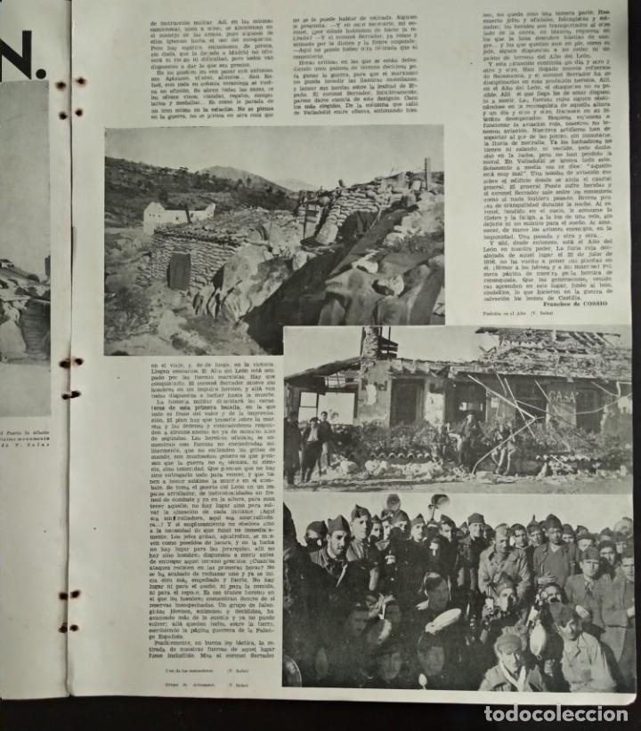 Revistas: Reportaje EL REQUETÉ portada litografía C.S. DE TEJADA - Foto 7 - 149676518