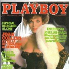 Revistas: PLAYBOY, Nº 61. AÑO 1984. ESPECIAL DE JOAN COLLINS, Y SUS DESNUDOS.. Lote 150087270