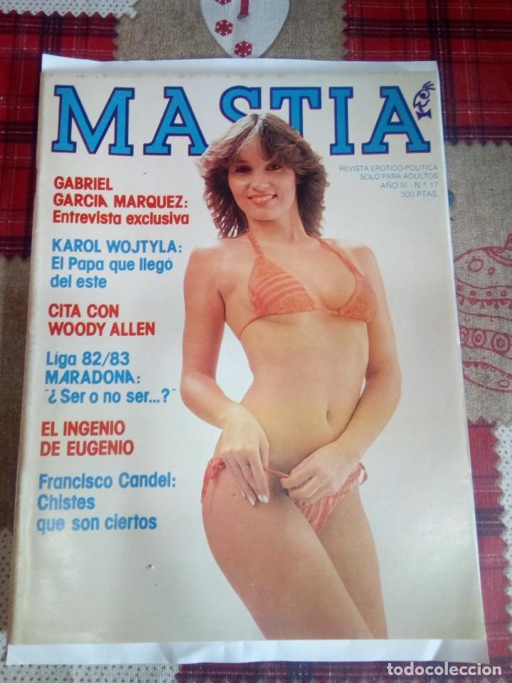REVISTA MASTIA (Coleccionismo para Adultos - Revistas)