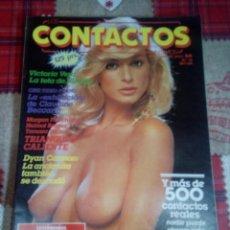 Revistas: REVISTA CONTACTOS. Lote 150647082