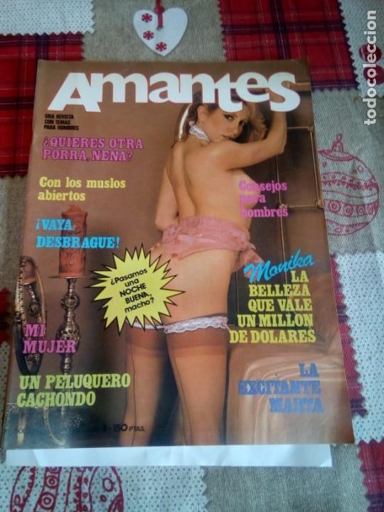 REVISTA AMANTES (Coleccionismo para Adultos - Revistas)
