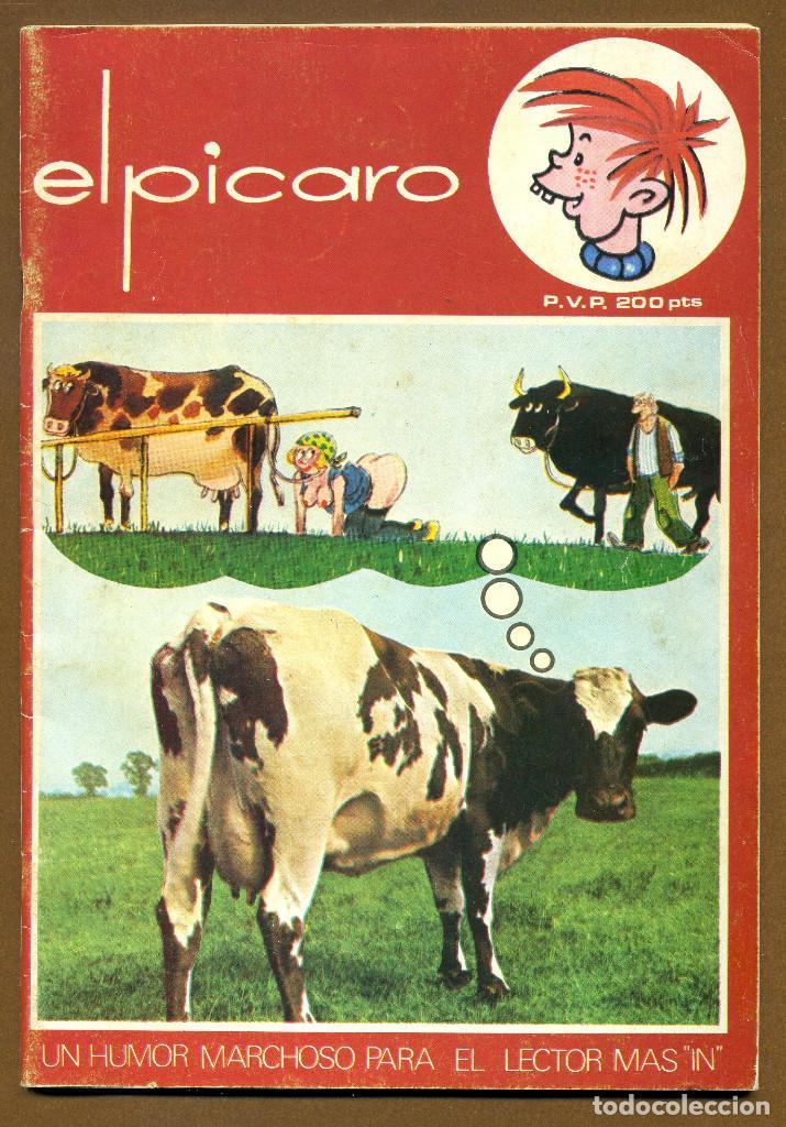 EL PICARO 1983 UN HUMOR MARCHOSO... EDICIONES RUIZ FLORES (Coleccionismo para Adultos - Revistas)