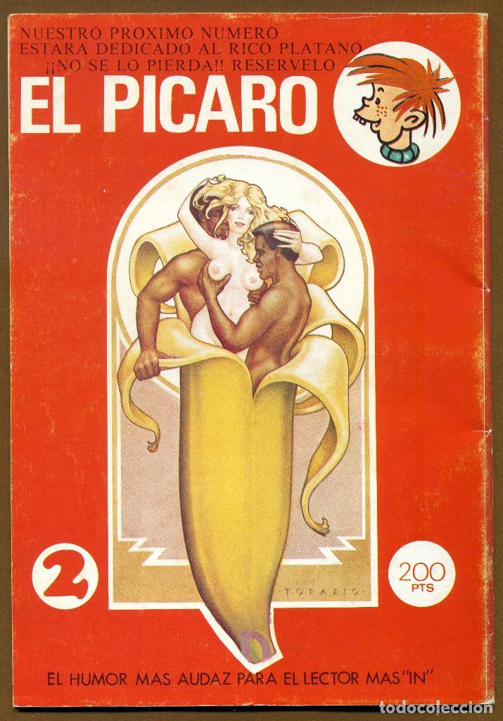 Revistas: EL PICARO 1983 UN HUMOR MARCHOSO... EDICIONES RUIZ FLORES - Foto 2 - 150659346