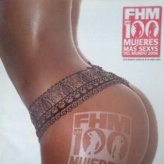 Revistas: FHM LAS 100 MUJERES MAS SEXYS DEL MUNDO 2006. Lote 150699250