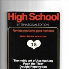 Revistas: HIGH SCHOOL, REVISTA DE SEXO DE SUECIA TRADUCIDA EN ESPAÑOL.. Lote 159628252