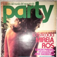 Revistas: REVISTA PARTY Nº 19 - 1977 - REVISTA ESPECTACULO. Lote 151425838