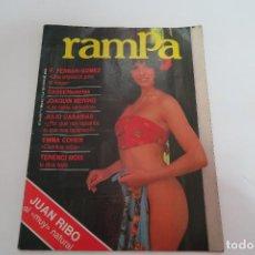 Revistas: RAMPA NUMERO 01 REVISTA EROTICA. Lote 154676450