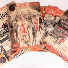 Revistas: 8 EJEMPLARES LA CODORNIZ. VV. AA. EDITORIAL RIBADENEYRA. MADRID-BARCELONA 1957. Lote 154959582