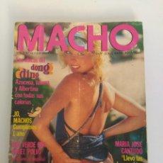 Revistas: REVISTA MACHO, V2, Nº13, AZUCENA HERNANDEZ Y MARÍA JOSÉ CANTUDO. Lote 155523770