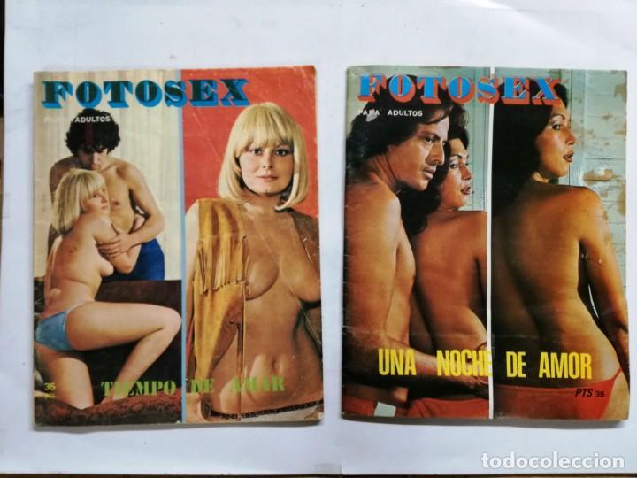 2 REVISTAS FOTOSEX, VER FOTOS (Coleccionismo para Adultos - Revistas)