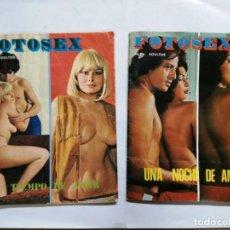 Revistas: 2 REVISTAS FOTOSEX, VER FOTOS. Lote 161348346