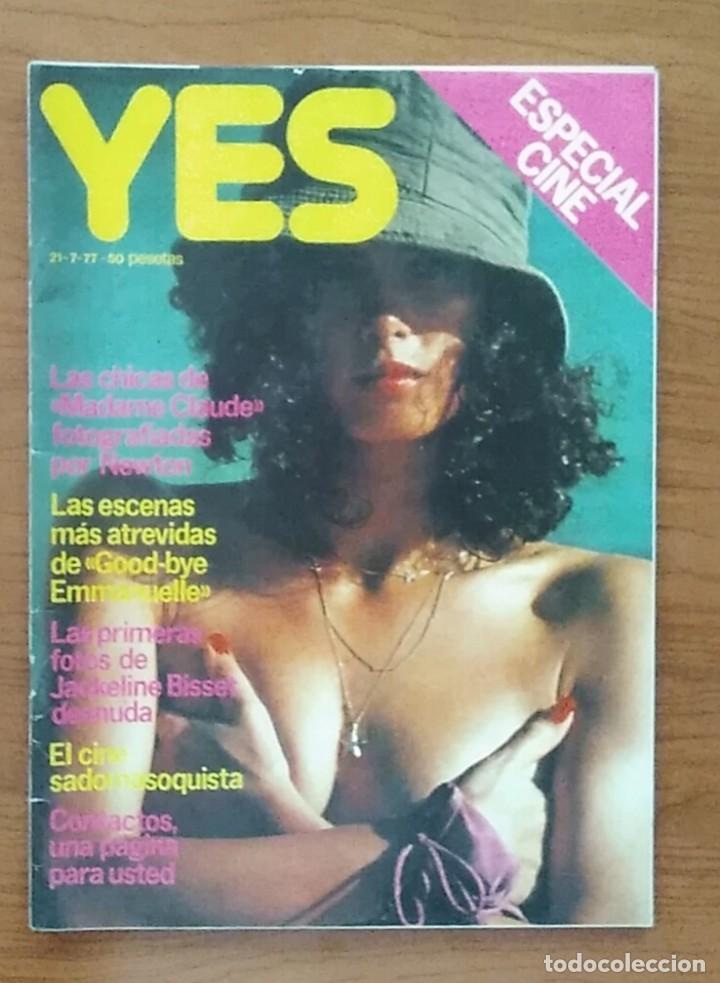 Revista Yes 21 7 1977 Arrabal Sylvia Kriste Sabine Froute Jacqueline Bisset