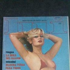 Revistas: LUI Nº 45-1981-JUAN MARI BANDRÉS-SYLVIA KRISTEL-FEDRA LORENTE-GRUPO MAMA-LA MOVIDA-JOAQUIN SOROLLA. Lote 164619422