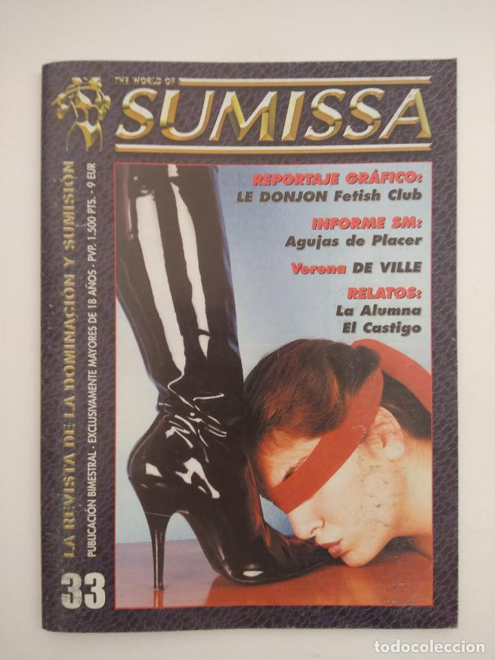 THE WORLD OF SUMISSA/LA REVISTA DE LA DOMINACION Y SUMISION. Nº33. (Coleccionismo para Adultos - Revistas)