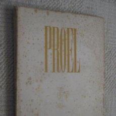 Revistas: REVISTA PROEL, OTOÑO 1946, SANTANDER, CANTABRIA, POESÍA, VICENTE ALEIXANDRE, GERARDO DIEGO. Lote 169400812