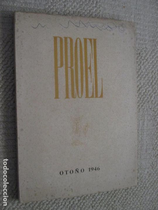 REVISTA PROEL, OTOÑO 1947, POESÍA, SANTANDER, CANTABRIA, ALEIXANDRE, GERARDO DIEGO (Coleccionismo para Adultos - Revistas)