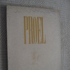 Revistas: REVISTA PROEL, OTOÑO 1947, POESÍA, SANTANDER, CANTABRIA, ALEIXANDRE, GERARDO DIEGO. Lote 169401720