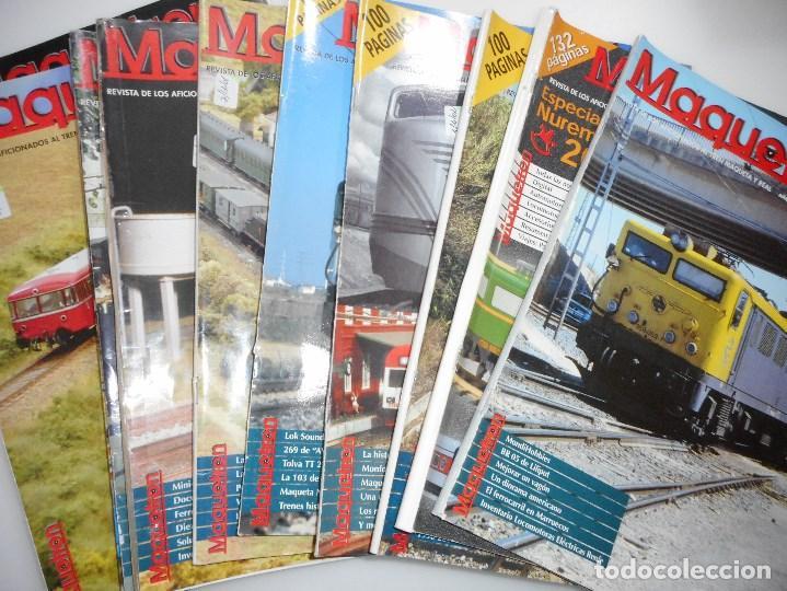 VV.AA MAQUETREN. REVISTA DE LOS AFICIONADOS AL TREN MAQUETA REAL Y94845 (Coleccionismo para Adultos - Revistas)
