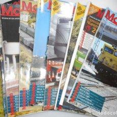 Revistas: VV.AA MAQUETREN. REVISTA DE LOS AFICIONADOS AL TREN MAQUETA REAL Y94845. Lote 169566580