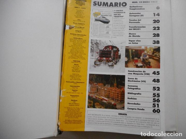 Revistas: VV.AA Maquetren. Revista de los aficionados al tren maqueta real Y94845 - Foto 3 - 169566580