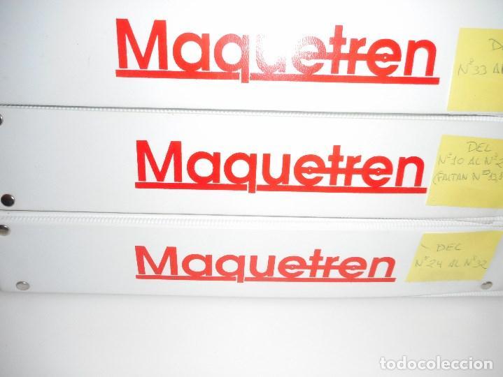 Revistas: VV.AA Maquetren. Revista de los aficionados al tren maqueta real Y94845 - Foto 4 - 169566580