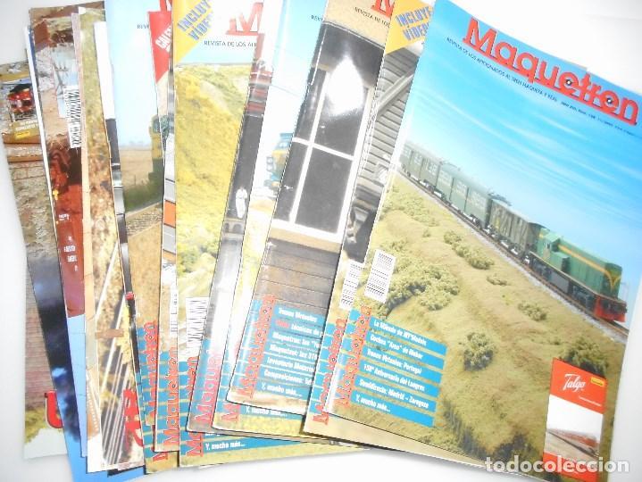 Revistas: VV.AA Maquetren. Revista de los aficionados al tren maqueta real Y94845 - Foto 6 - 169566580