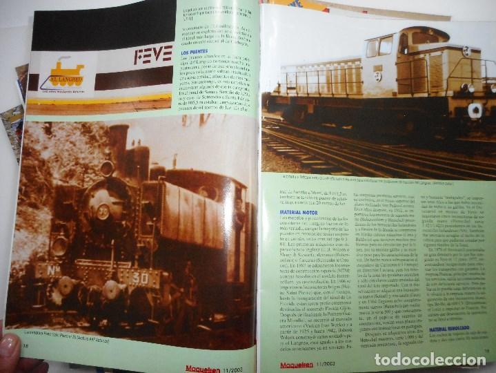Revistas: VV.AA Maquetren. Revista de los aficionados al tren maqueta real Y94845 - Foto 7 - 169566580