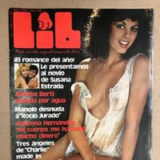 Revistas: LIB N°146 (1979). SUSANA ESTRADA, ROCIO JURADO, AZUCENA HERNÁNDEZ, ILONA STALLER,.... Lote 169793616