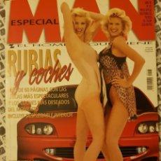 Revistas: REVISTA MAN Nº 128 (JULIO 1998) RUBIAS Y COCHES, GLORIA ESTEFAN, NICHOLAS CAGE, M.A.NADAL (BARÇA). Lote 171761577