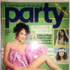 Revistas: REVISTA PARTY Nº 89 - 1978 - REVISTA DEL ESPECTACULO. Lote 173355850